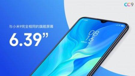 Xiaomi Mi CC9, CC9e và CC9 Meitu Edition tập trung màn hình và máy ảnh