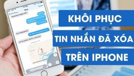 """Nên làm gì khi bạn """" lỡ tay"""" xóa mất tin nhắn trên iPhone"""