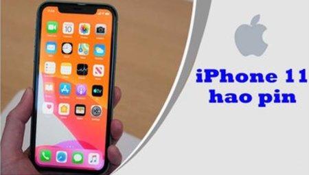 Làm gì để khắc phục tình trạng iPhone 11 hao pin nhanh?