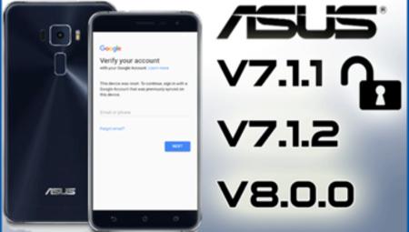 Địa chỉ mở khóa màn hình, tài khoản google điện thoại Asus