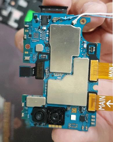 Thay IC nguồn, Sửa Samsung M20, M20s, M21 mất nguồn
