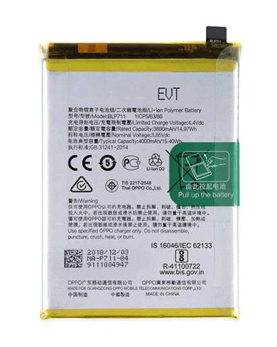 Thay Pin Oppo A72 chính hãng