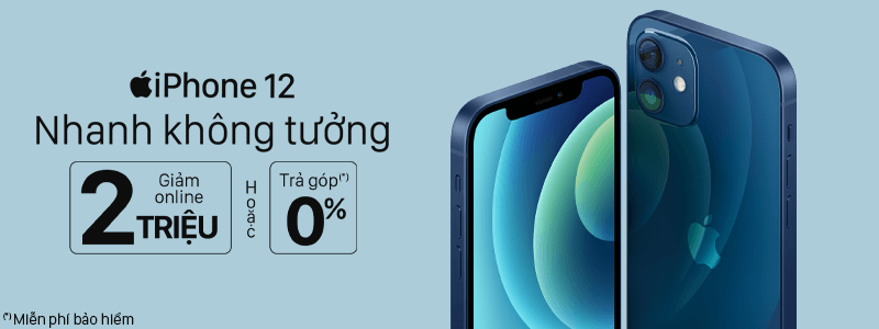 iPhone 12 giảm giá sốc